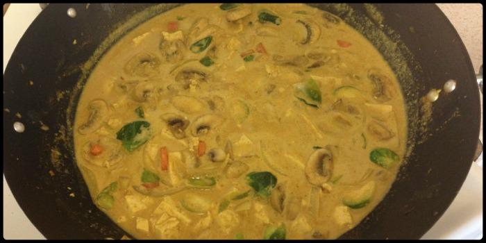 sauce in wok